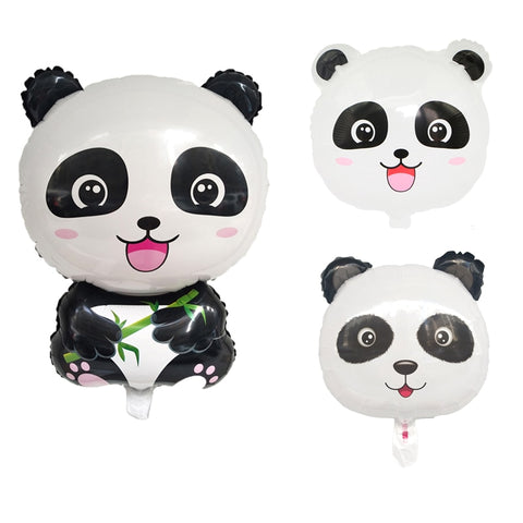 Panda Foil Balloons Panda Balloon Birthday Party Decoration - Pandarling