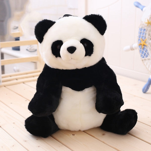 Panda Plush Adjustable Schoolbags Stuffed Animal Bag - Pandarling
