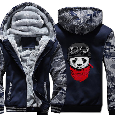 men's fashion jackets funny panda printed coats - Pandarling