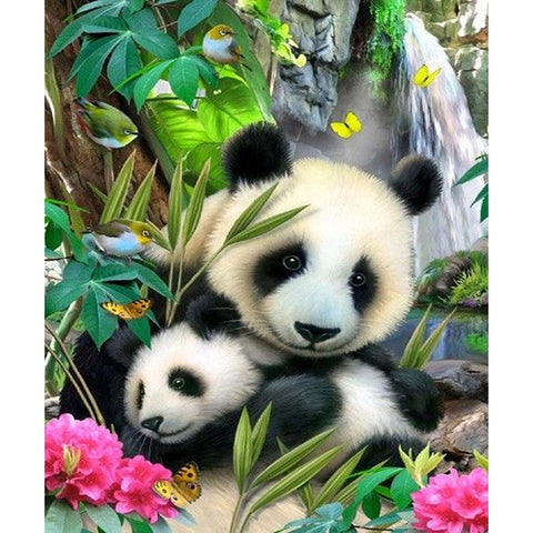 5D DIY Diamond Painting Animal Panda Wall Painting gift - Pandarling