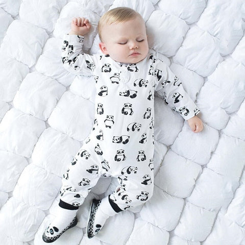 Panda Newborn clothes unisex baby clothes Infant Long sleeve - Pandarling