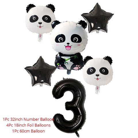 Panda Theme Party Tablecloth Birthday Party Decoration Supplies - Pandarling