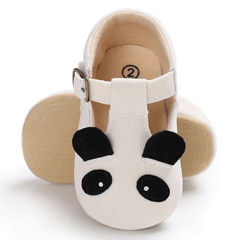 Panda Animal Newborn Princess Slip Shoes - Pandarling