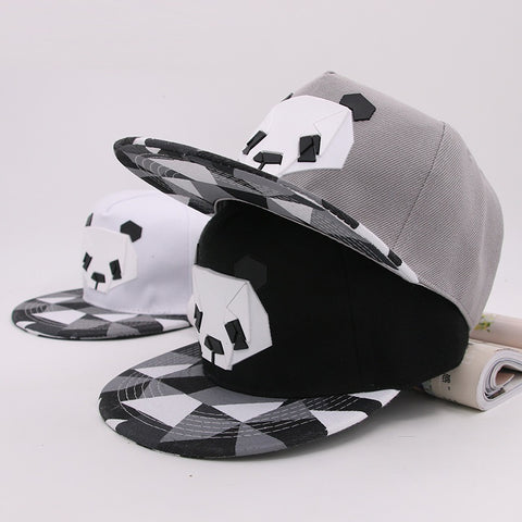 Hot Cartoon Hats 3D Silicone Panda Baseball Caps - Pandarling