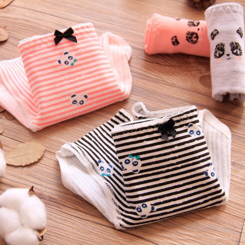 1 PCS 4 Styles Cute Women Panda Underwear - Pandarling