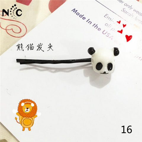 Cartoon Hairpin  Cute panda - Pandarling