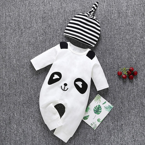 Infant Toddler Baby Boy Cartoon Panda Hat Clothes - Pandarling