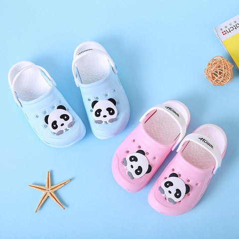 Summer Fashion Children Cartoon Panda Cave Shoes - Pandarling