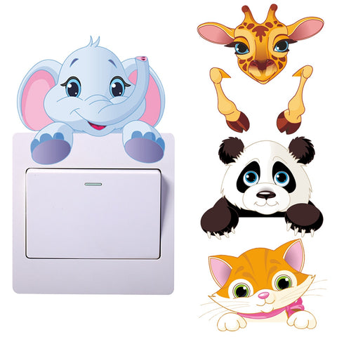 Wall Sticker For Kids Light Switch Sticker - Pandarling
