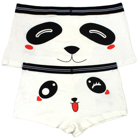 2pcs Couples Underpants Men Panda Knickers - Pandarling