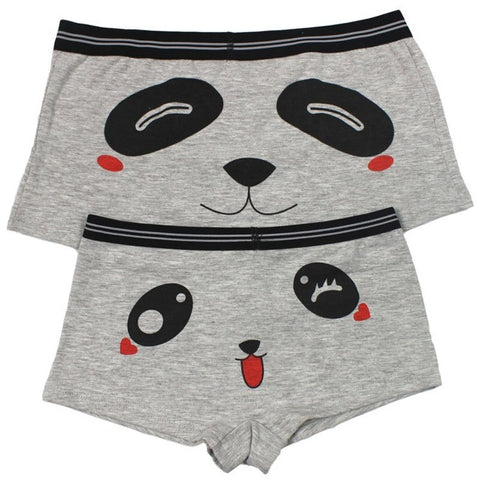 2pcs Underpants Men Women Personality Panda Knickers - Pandarling