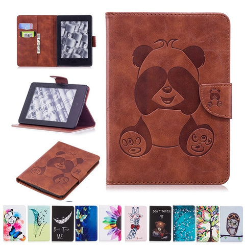 Smart Cover For Kindle Painted Panda - Pandarling