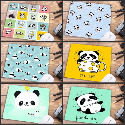 Cute baby Panda cartoon Mouse pad PC Computer mat - Pandarling