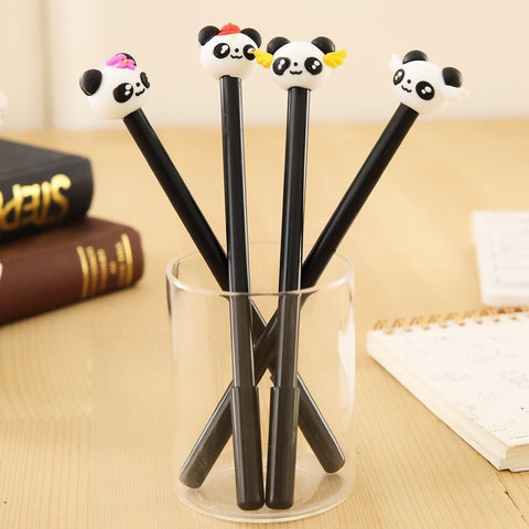 1 Piece Stationery Cute Panda Gel Pen - Pandarling