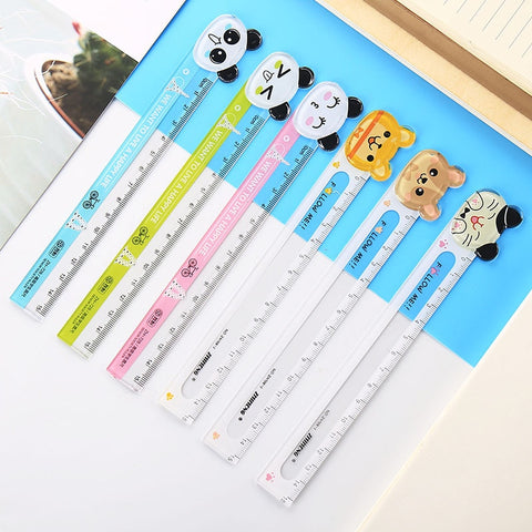 Panda Cat 15cm Straight Ruler - Pandarling