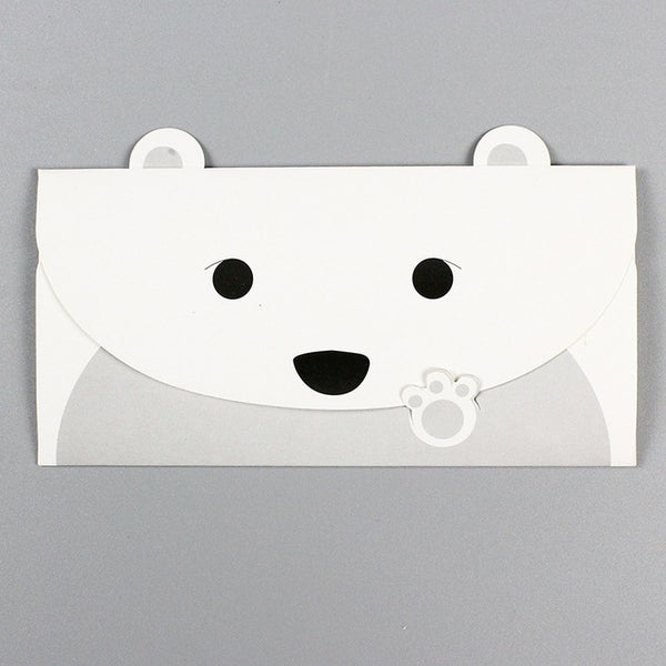 2 Pcs/lot  Panda Dog Style Envelope Greeting Card - Pandarling