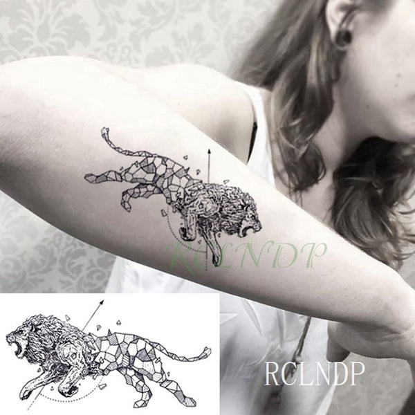Waterproof Temporary Tattoo Stickers panda fake - Pandarling