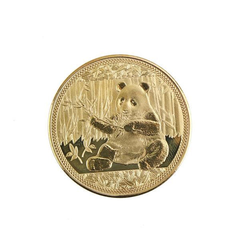 Panda Commemorative Gold Plated Coin - Pandarling