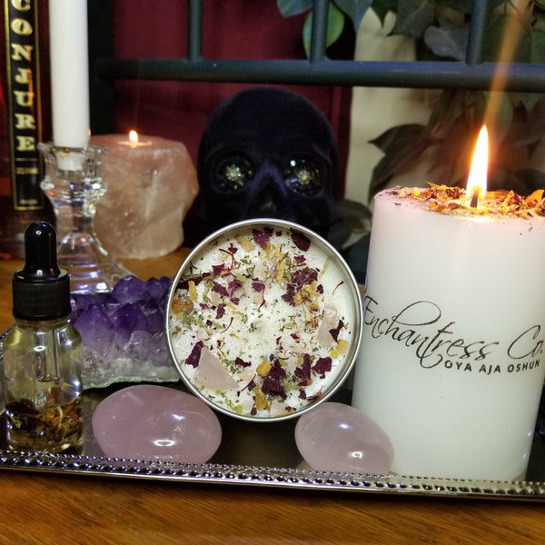 Song of Solomon Love Intention Candle