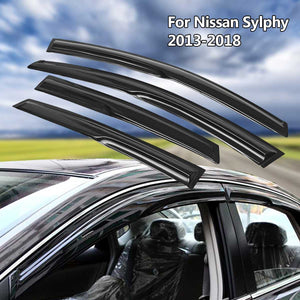 Nissan Sentra 2013 2018 Window Visors Refresh Gift Shop
