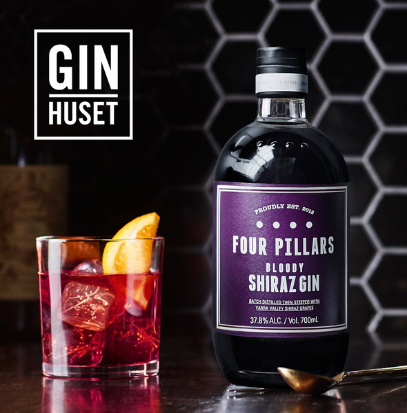 Four Pillars Bloody Shiraz Gin & Tonic