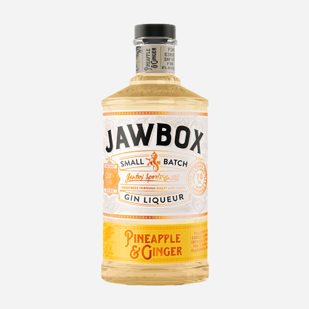 Jawbox Pineapple and Ginger gin