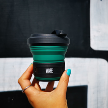 Load image into Gallery viewer, Forest Green Travel Cups - WAFEBrands