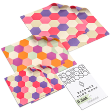 Load image into Gallery viewer, WAFE - Reusable Beeswax Wraps - Beeswax Edition - Pack of 6+3