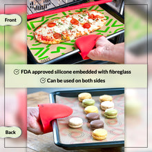 Load image into Gallery viewer, WAFE silicone baking mat set - 3PACK