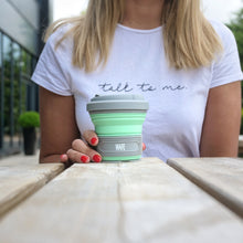 Load image into Gallery viewer, Mint Green Travel Cup - WAFEBrands