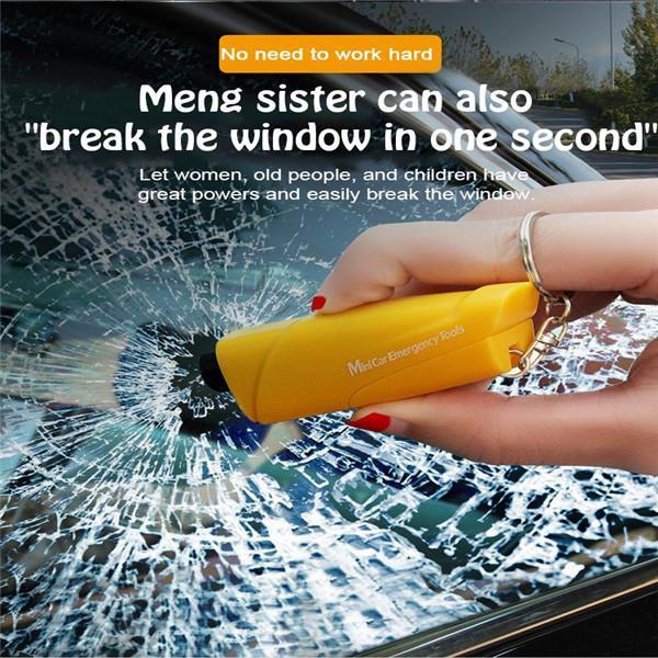 ( Buy 2 Free Shipping)The latest upgraded Portable Car escape safety window breaker