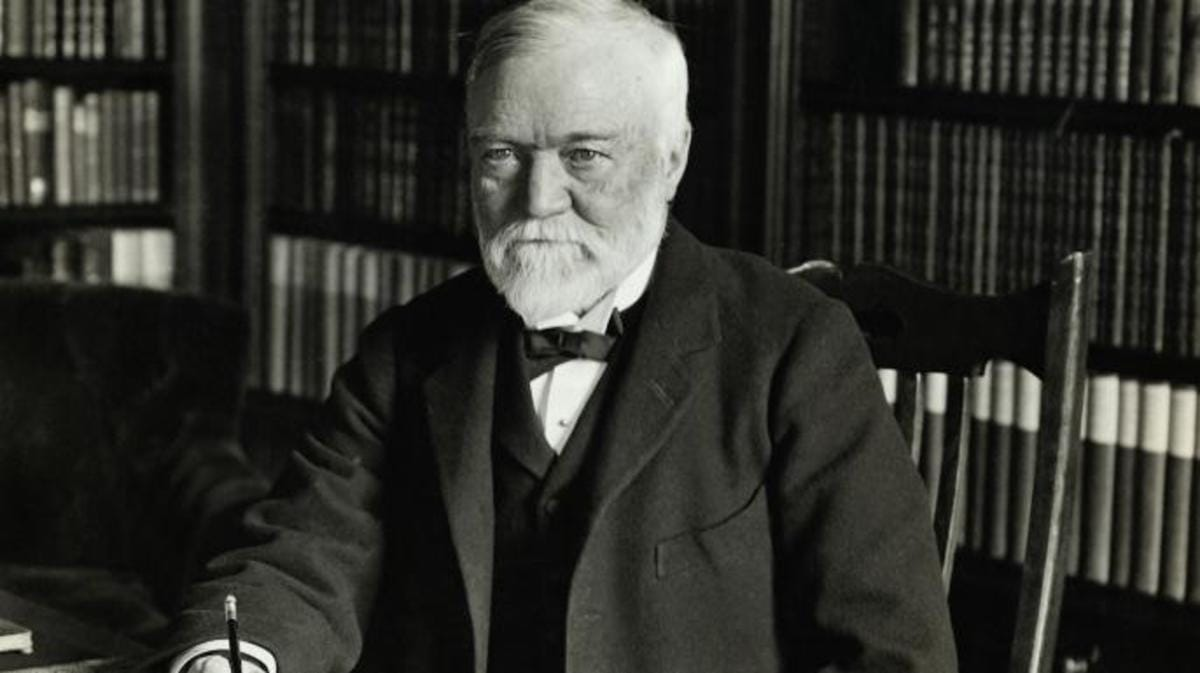SUCCESS STORY:ANDREW CARNEGIE