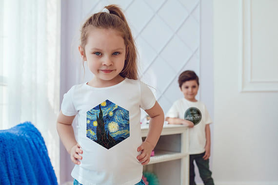 Van Gogh Kids Shirts Kids Tshirt Shirt Gift For