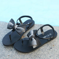 2018 Women Fashion Shoes Summer Solid Flower Round-thumbnail
