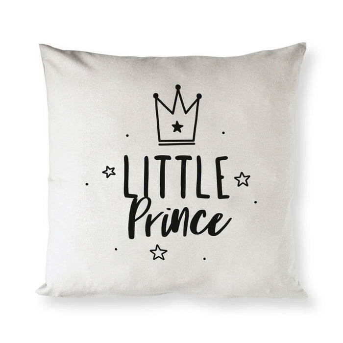 Little Prince Baby Cotton Canvas Pillow Cover