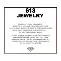 1.00 CT Necklace in 18K White Gold Plated with Swarovski Crystals-thumbnail