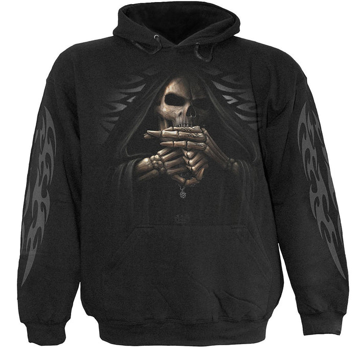 BONE FINGER - Hoody Black