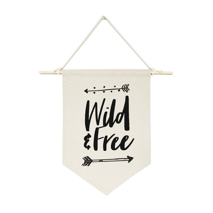 Wild & Free Hanging Wall Banner