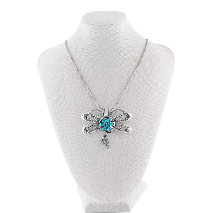 Pendant - Necklace - Snap Jewelry - Dragonfly