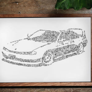 The S14 explained with drawings ( Nissan Silvia )