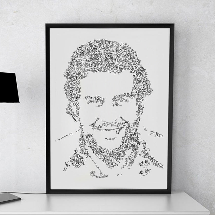 9 Pablo escobar fun facts with doodle drawings