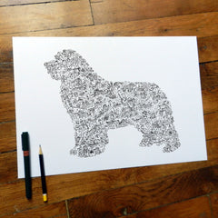 A Terrific Art Gift for Newfoundland Dog Lovers