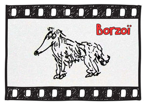 The Borzoi Illustrated : Fun Facts about the russian Wolfhound Dog 101