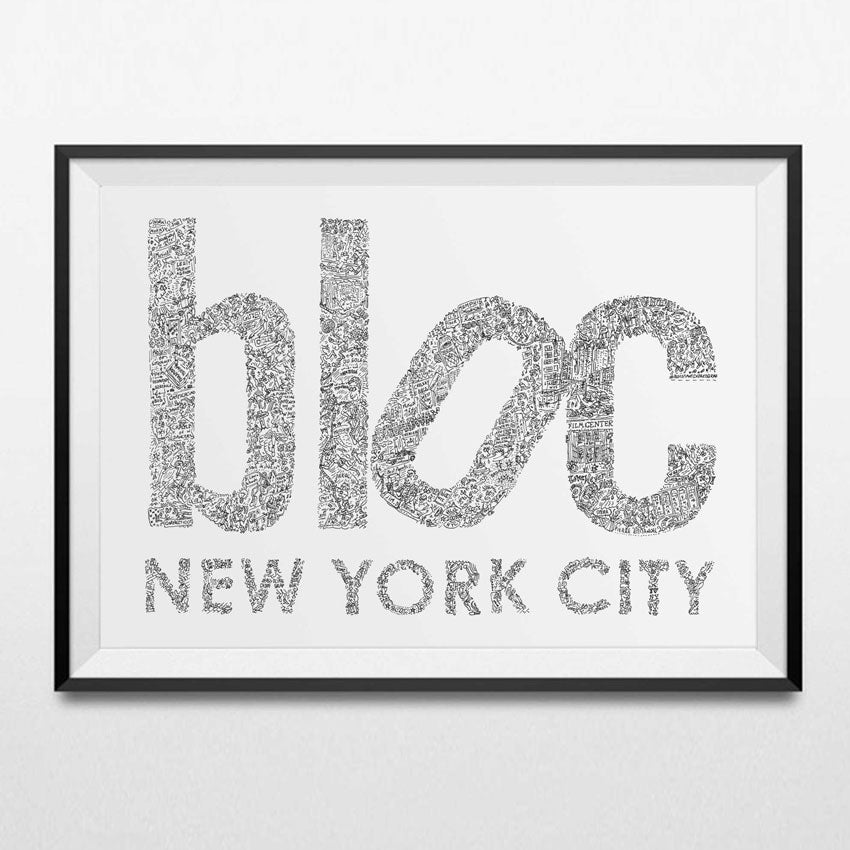 Custom Order for Bloc Nyc