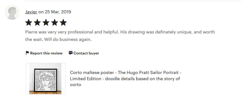 pierre was very helpfull and professional drawinside review