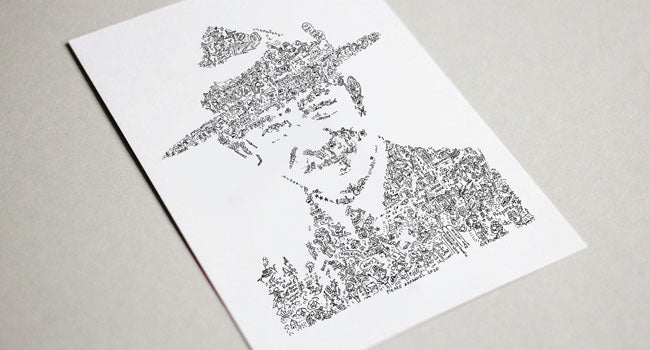 lord baden powell scout founder art print