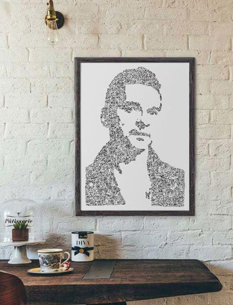 Dave gahan poster of depeche mode