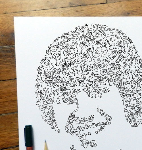 incredible doodle art work drawing