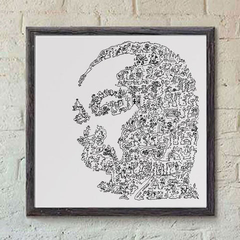 Martin Luther King Jr print
