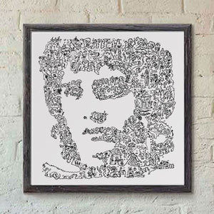 Frodo Baggins print - Lord Of The Ring poster
